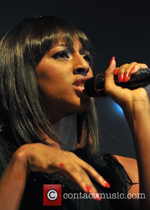 Alexandra Burke BBC Switch Live held at the...