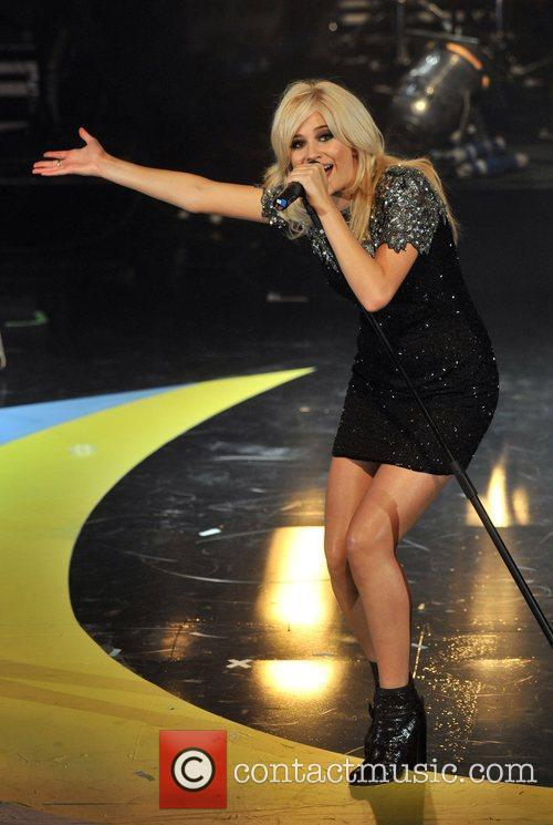Pixie Lott BBC Switch Live held at the...