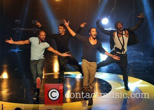 JLS BBC Switch Live held at the Hammersmith...