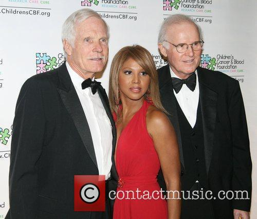 Ted Turner and Toni Braxton