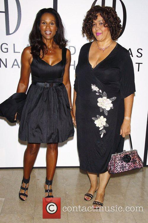 Beverly Johnson and guest The Opening of Douglas...