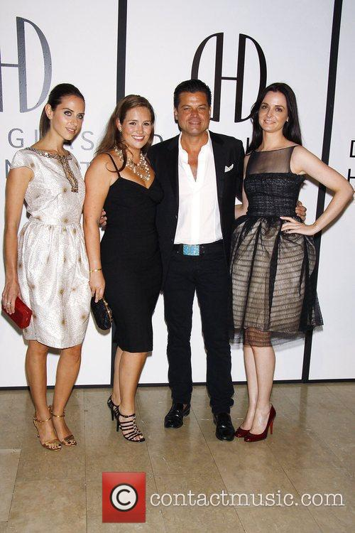 The Opening of Douglas Hannant's Flagship Boutique at...