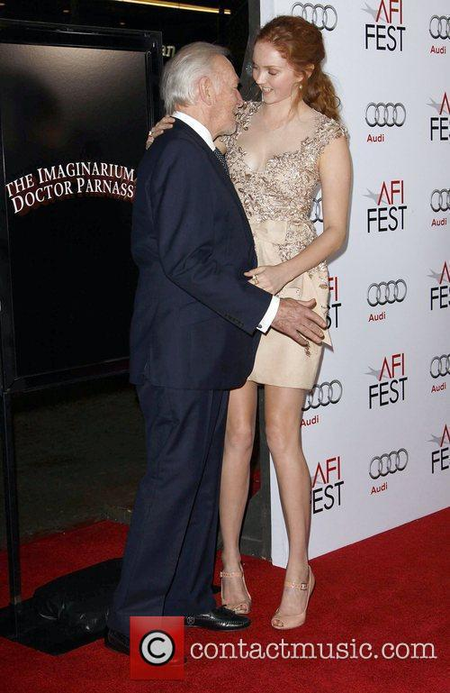 Christopher Plummer and Lily Cole 2009 AFI Fest...