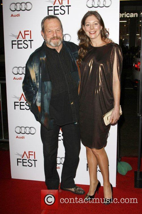 Terry Gilliam and Daughter Amy Gilliam 2009 AFI...