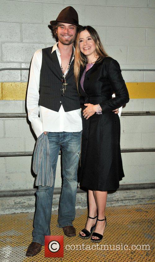 Mira Sorvino and Christopher Backus Isaac Mizrahi Live!...