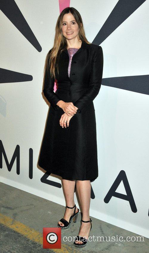 Mira Sorvino Isaac Mizrahi Live! collection launch celebration...