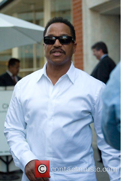 Marlon Jackson  leaving Mr. Chow in Beverly...