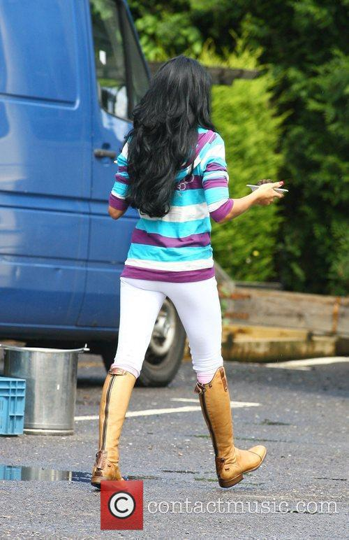 Katie Price aka Jordan gets her lunch from...