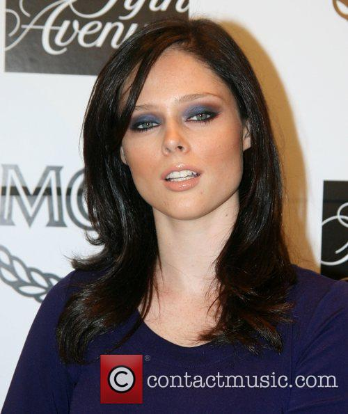 Coco Rocha at the MCM New York Collection...