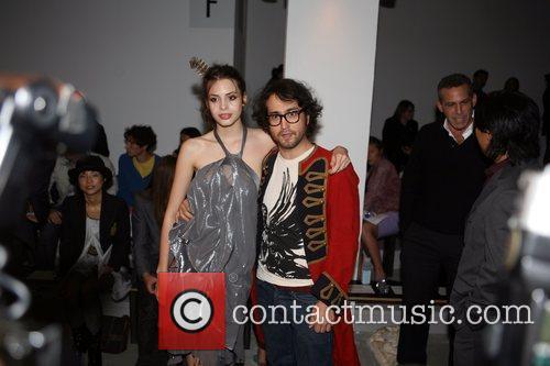Caroline Kemp Muhl and Sean Lennon Mercedes-Benz IMG...