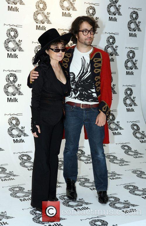 Yoko Ono and Sean Lennon 2
