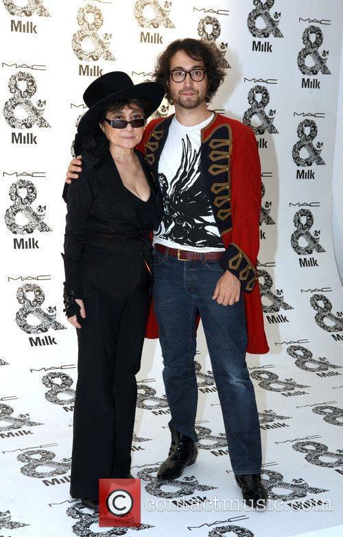 Yoko Ono and Sean Lennon 4