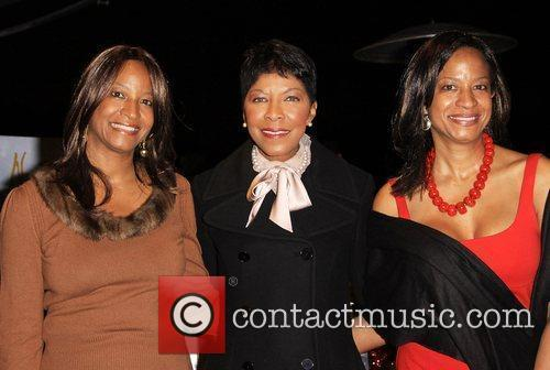 Natalie Cole and her sisters Timolin Cole and...