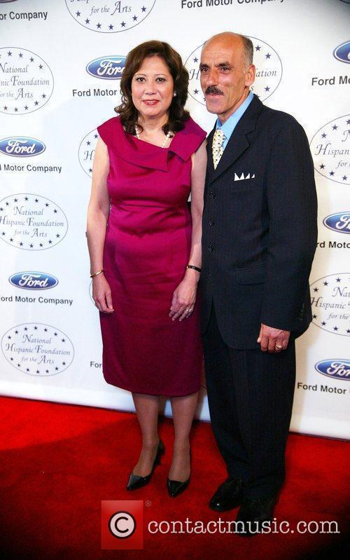 Hilda Solis and her husband National Hispanic Foundation...