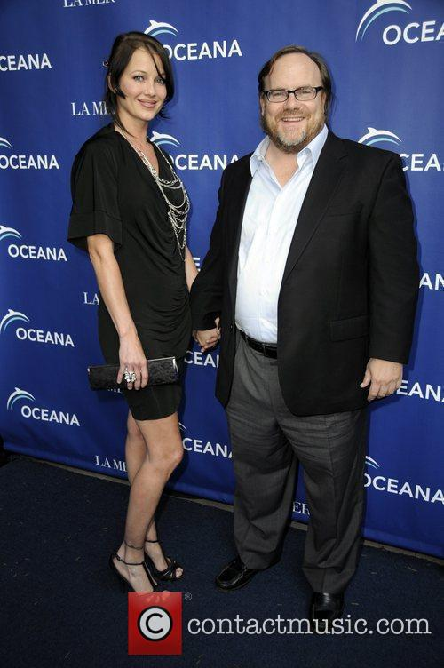 Kevin Farley and his wife Ocana and La...