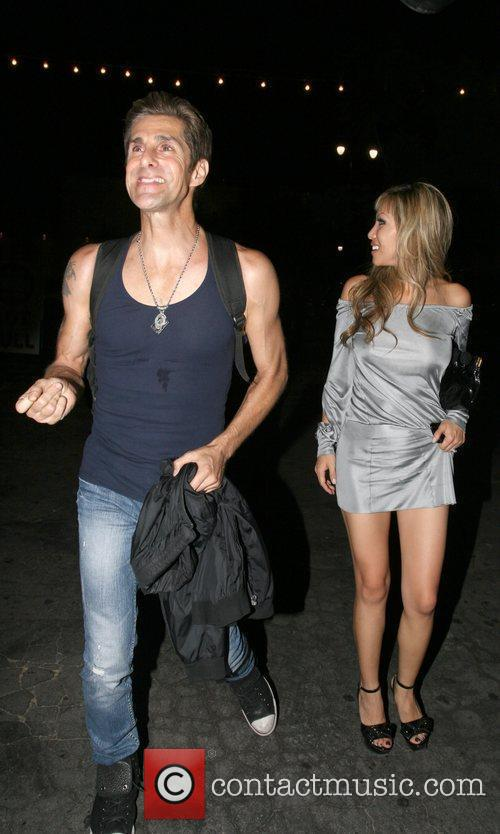 Perry Farrell  leaving the Bardo Club in...