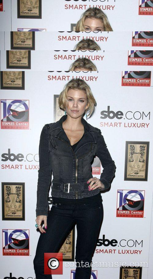 AnnaLynne McCord SBE's Hyde Lounge Grand Opening At...