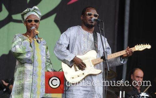 Amadou and Mariam and Glastonbury Festival 1