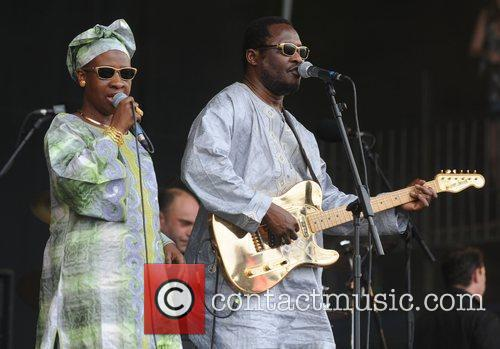 Amadou and Mariam and Glastonbury Festival 2