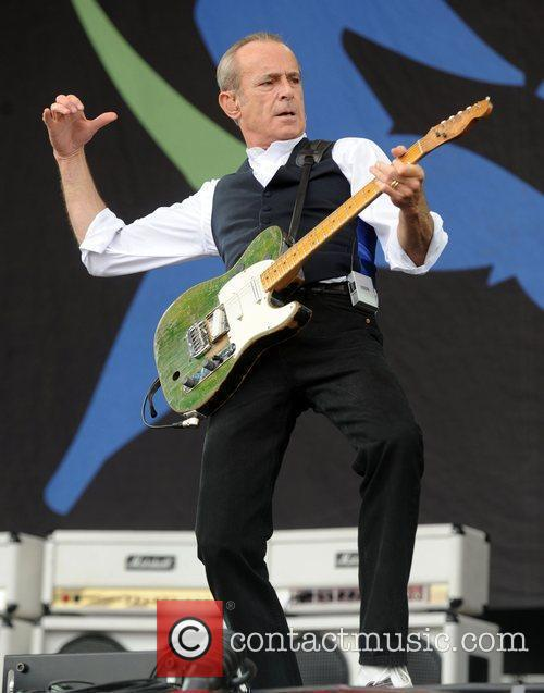 Francis Rossi of Status Quo performing at the...