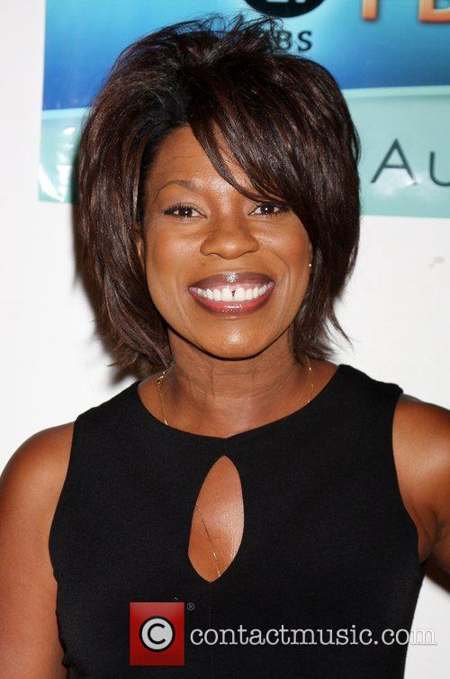 Lorraine Toussaint arriving at The Answer is You...