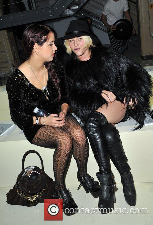 Peaches Geldof and Jaime Winstone 2
