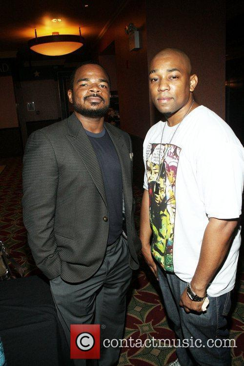 F. Gary Gray and Dennis White at The...
