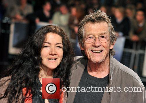 John Hurt and guest The Times BFI London...