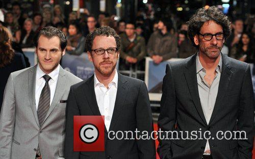 Michael Stuhlbarg, Ethan Coen and Joel Coen 3