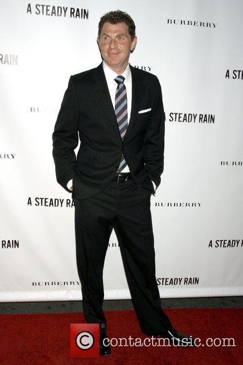 Bobby Flay Opening night of 'A Steady Rain'...