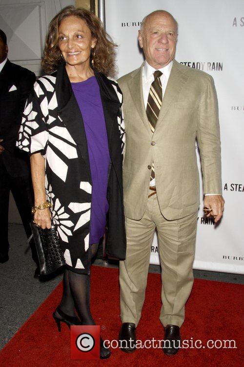 Diane Von Furstenberg and Gerald Schoenfeld 1