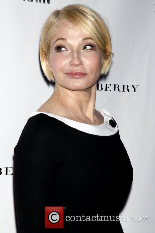 Ellen Barkin Opening night of 'A Steady Rain'...