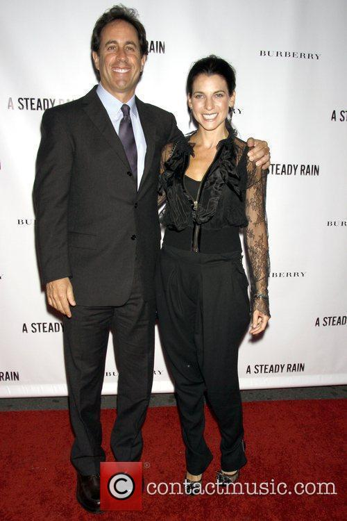 Jerry Seinfeld and Jessica Seinfeld Opening night of...