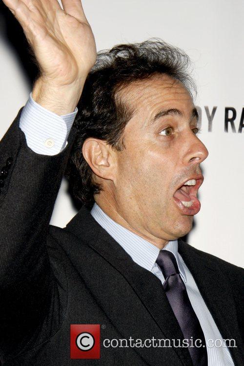 Jerry Seinfeld Opening night of 'A Steady Rain'...