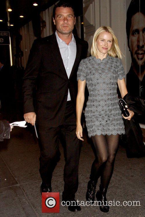 Liev Schreiber and Naomi Watts Opening night of...