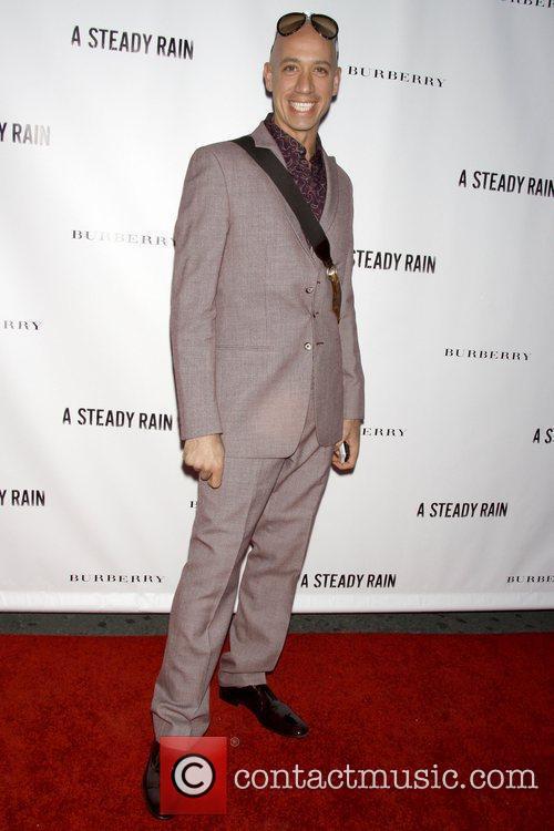 Robert Verdi Opening night of 'A Steady Rain'...