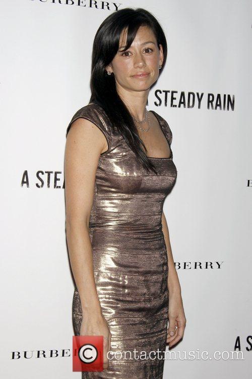 Satsuki Mitchell Opening night of 'A Steady Rain'...