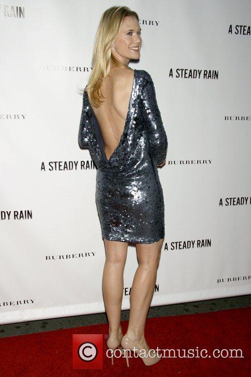 Stephanie March Opening night of 'A Steady Rain'...