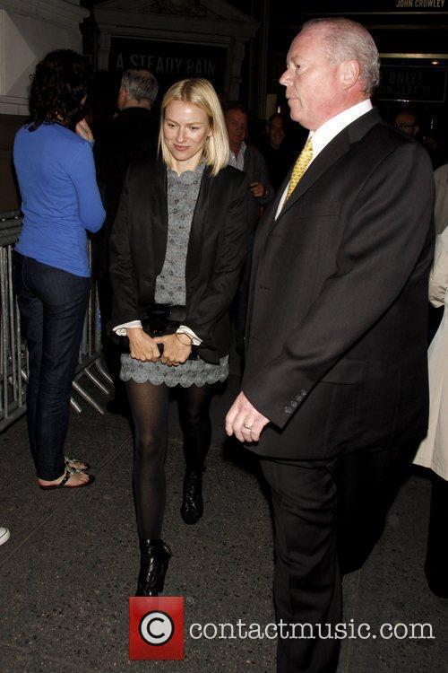 Naomi Watts and Gerald Schoenfeld 1