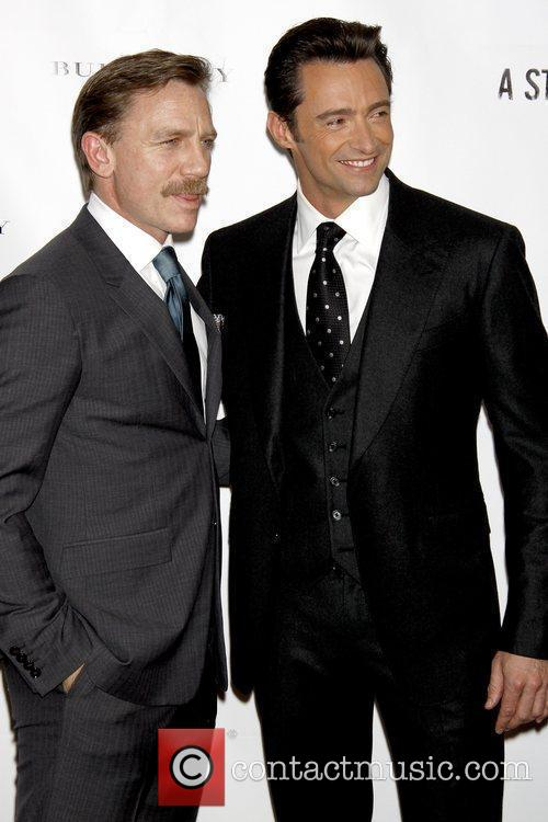 Daniel Craig and Hugh Jackman 4