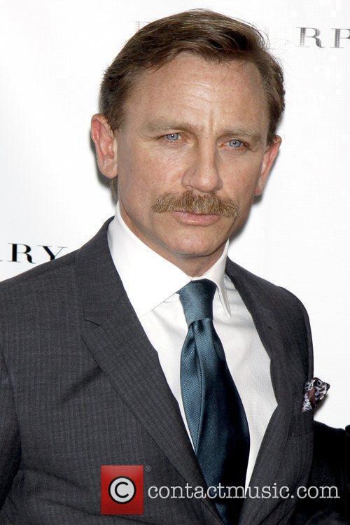 Daniel Craig Press Reception of 'A Steady Rain'...