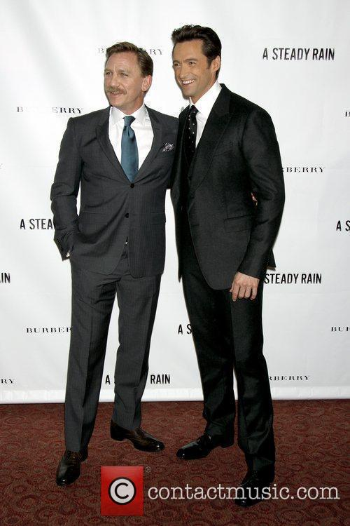 Daniel Craig and Hugh Jackman 11