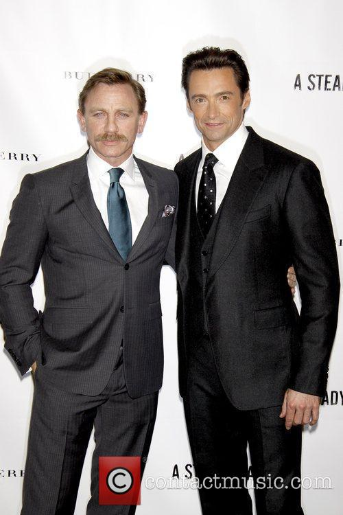 Daniel Craig and Hugh Jackman 3