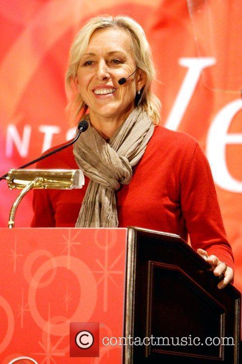 Martina Navratilova AARP Expo, Vegas@50 at Sands Expo...