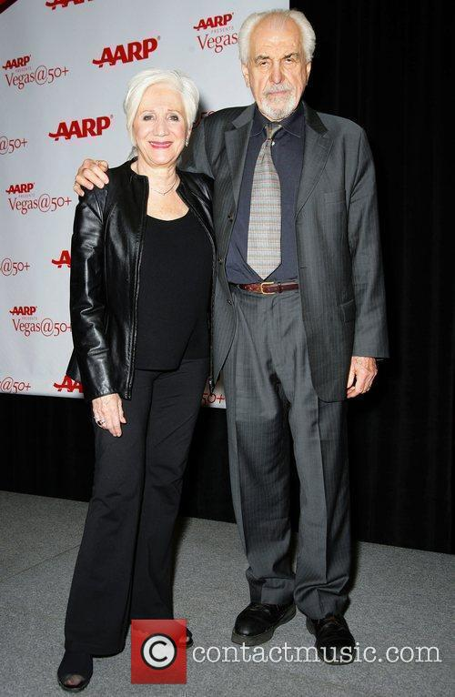 Olympia Dukakis and Louis Zorich