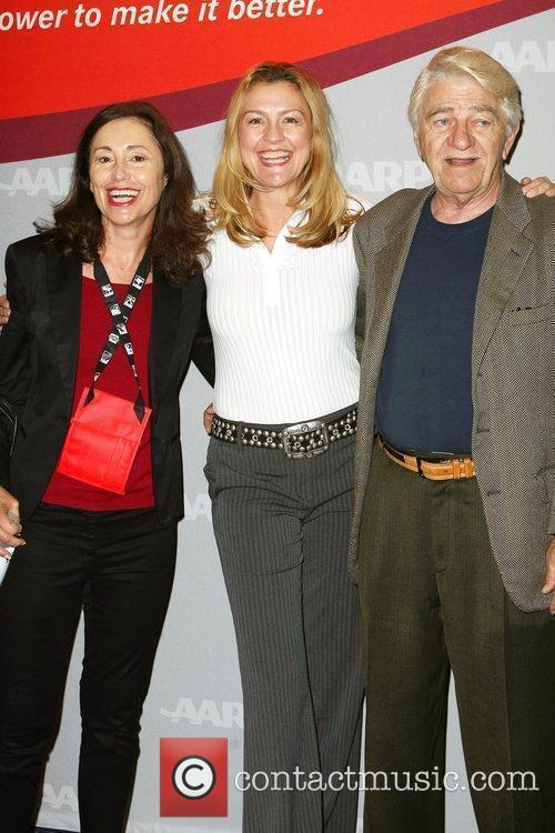 Susan Rodgers, Charlene Blaine-Schulenburg, Seymour Cassel AARP Expo,...
