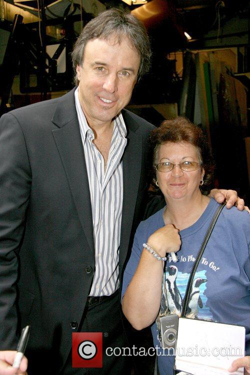 Kevin Nealon and Fan Kevin Nealon leaving ABC...