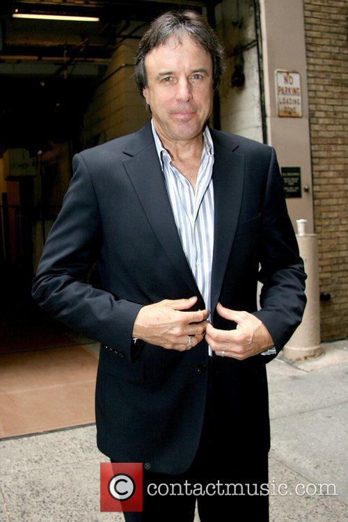 Kevin Nealon leaving ABC studio in Manhattan after...