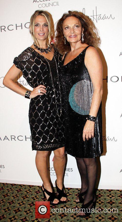 Molly Sims and Diane Von Furstenberg 13th annual...