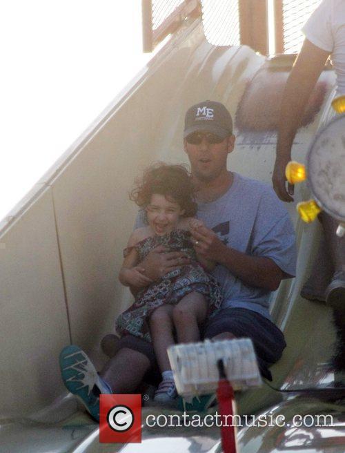 Adam Sandler takes his daughter Sadie to the...